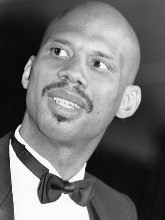 Kareem Abdul-Jabbar - 1989 Stretched Canvas Print