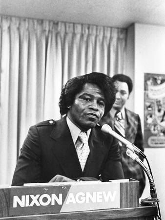 James Brown, Republican Party Stretched Canvas Print