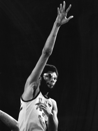 Kareem Abdul-Jabbar Stretched Canvas Print