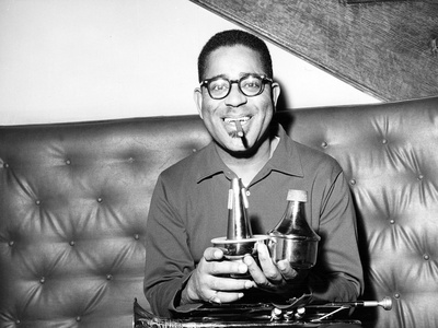 Dizzy Gillespie - 1962 Stretched Canvas Print