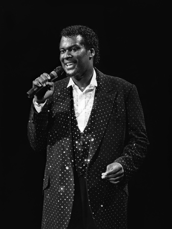 Luther Vandross - 1985 Stretched Canvas Print