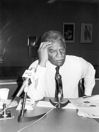 Harold Washington -1983 Stretched Canvas Print