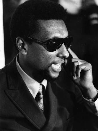 Stokely Carmichael - 1970 Stretched Canvas Print