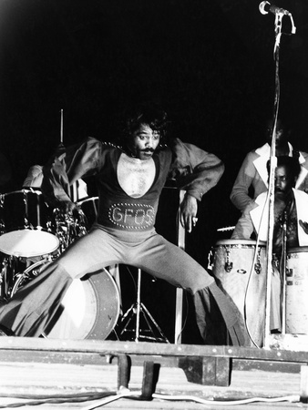 James Brown, - 1974 Stretched Canvas Print