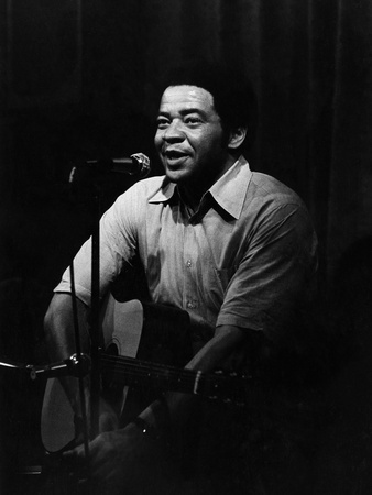 Bill Withers Stretched Canvas Print