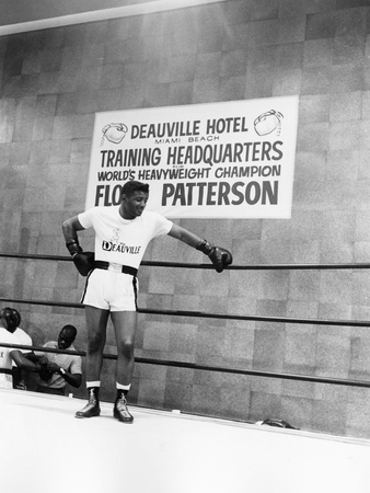 Floyd Patterson Stretched Canvas Print