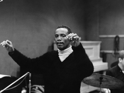 Quincy Jones -1961 Stretched Canvas Print