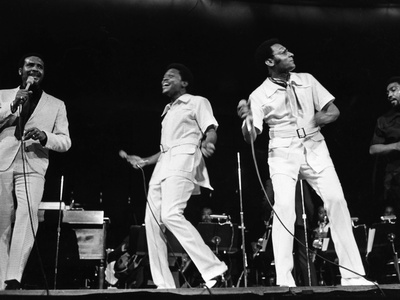 Four Tops - 1970 Stretched Canvas Print