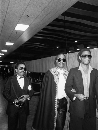 Stevie Wonder, Grammy Awards -  1984 Stretched Canvas Print
