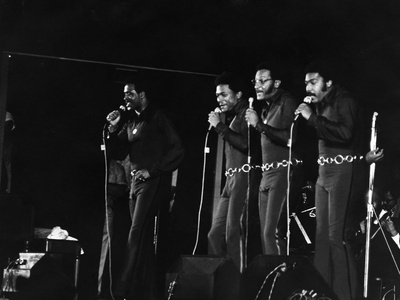 Four Tops - 1971 Stretched Canvas Print