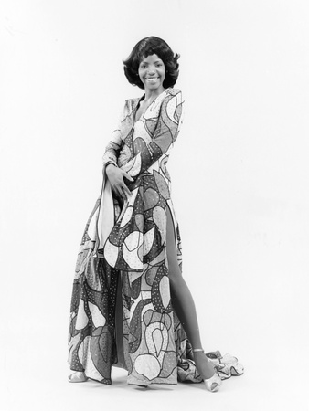 Melba Moore - 1974 Stretched Canvas Print