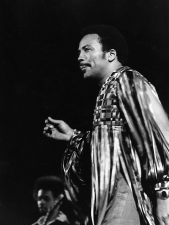 Quincy Jones - 1975 Stretched Canvas Print