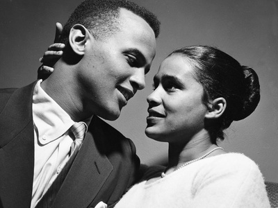 Harry Belafonte - 1957 Stretched Canvas Print