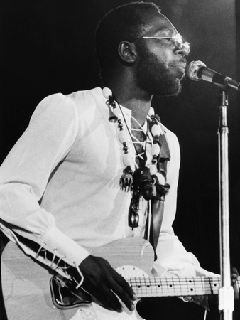 Curtis Mayfield - 1971 Stretched Canvas Print