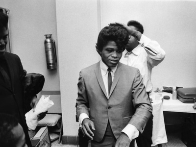 James Brown. - 1974 Stretched Canvas Print