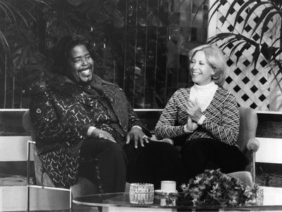 Barry White - 1976 Stretched Canvas Print