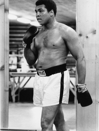 Muhammad Ali 1979 Stretched Canvas Print