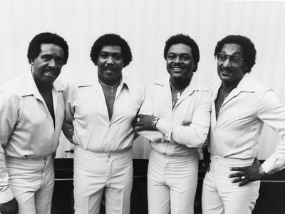 Four Tops - 1981 Stretched Canvas Print