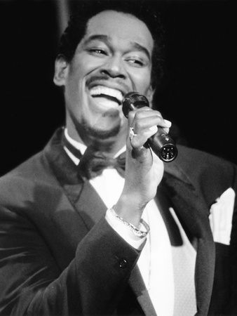 Luther Vandross - 1986 Stretched Canvas Print