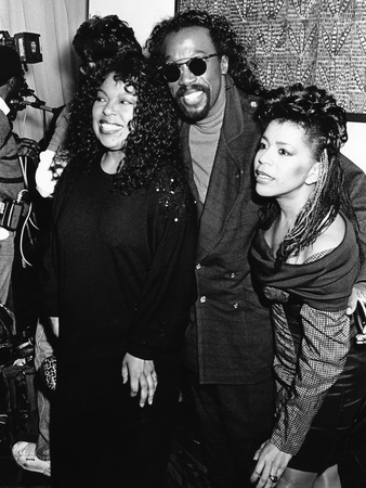 Roberta Flack, Ashford & Simpson - 1989 Stretched Canvas Print