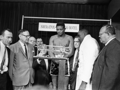 Floyd Patterson 1962 Stretched Canvas Print