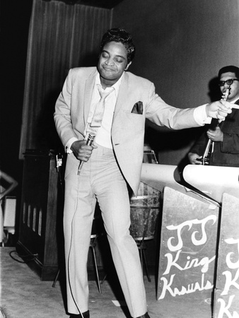 Jackie Wilson - 1967 Stretched Canvas Print