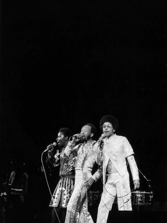 Earth, Wind & Fire - 1978 Stretched Canvas Print