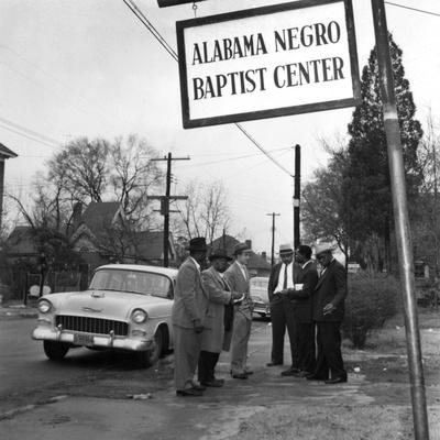 Montgomery Bus Boycott - 1956 Stretched Canvas Print