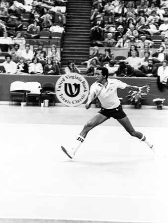 Arthur Ashe - 1979 Stretched Canvas Print