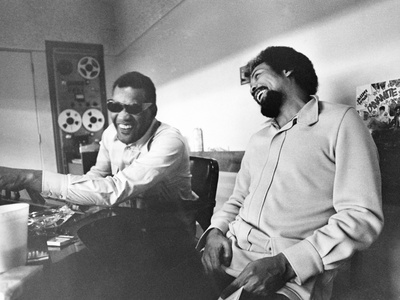 Quincy Jones - 1972 Stretched Canvas Print