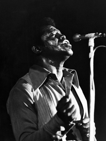 James Brown - 1970 Stretched Canvas Print