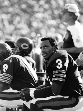 Walter Payton - 1979 Stretched Canvas Print