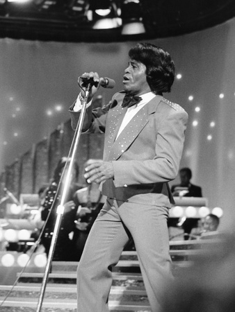 James Brown, ABAA 1986 Stretched Canvas Print