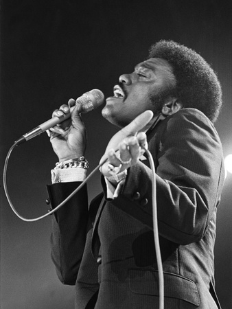 Johnnie Taylor Stretched Canvas Print