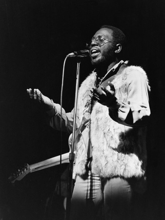 Curtis Mayfield Stretched Canvas Print