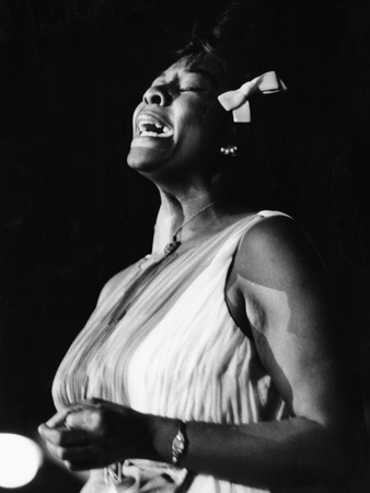 Dinah Washington Stretched Canvas Print
