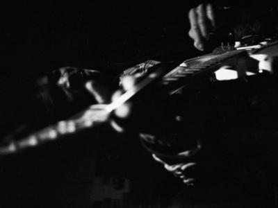 Jimi Hendrix -1968 Stretched Canvas Print