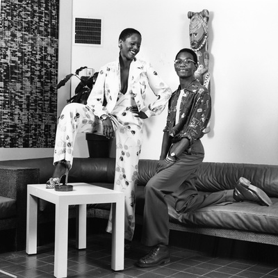 Willi Smith - 1972 Stretched Canvas Print