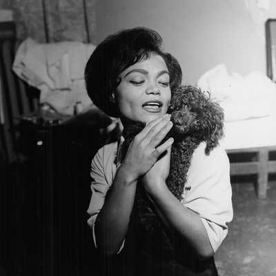 Eartha Kitt - 1959 Stretched Canvas Print