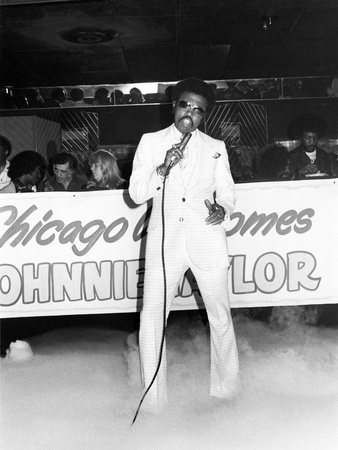 Johnnie Taylor - 1976 Stretched Canvas Print