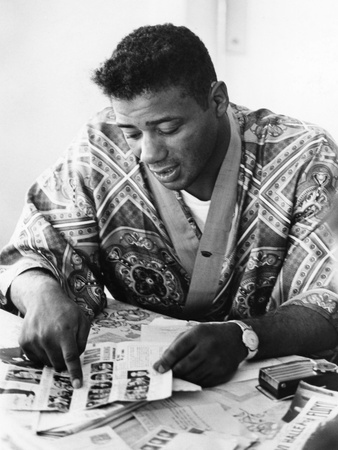 Floyd Patterson 1961 Stretched Canvas Print