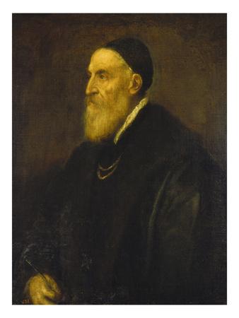 Self Portrait 1568-1571 œuvre par Titian