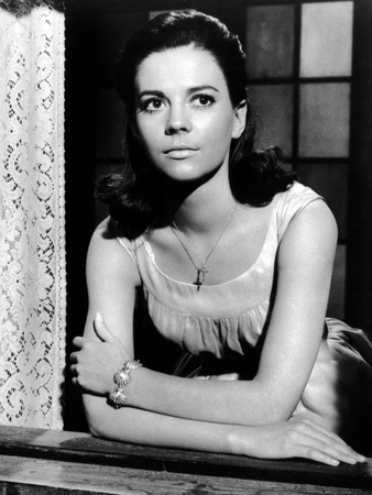 West Side Story, Natalie Wood, 1961 Stretched Canvas Print