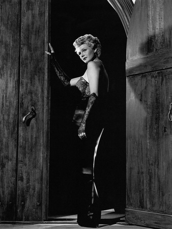 The Lady From Shanghai, Rita Hayworth, 1947 Stretched Canvas Print