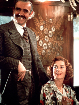 Murder On The Orient Express, Sean Connery, Vanessa Redgrave, 1974 Stretched Canvas Print