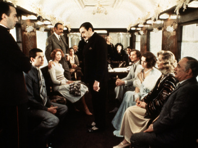 Murder On The Orient Express, 1974 Stretched Canvas Print