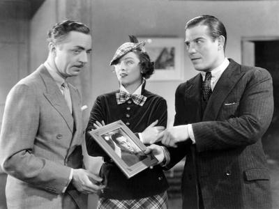 The Thin Man, William Powell, Myrna Loy, Nat Pendleton, Cesar Romero, 1934 Stretched Canvas Print
