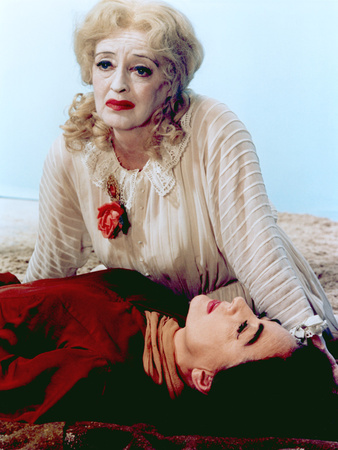 What Ever Happened To Baby Jane?, Bette Davis, Joan Crawford, 1962 Stretched Canvas Print