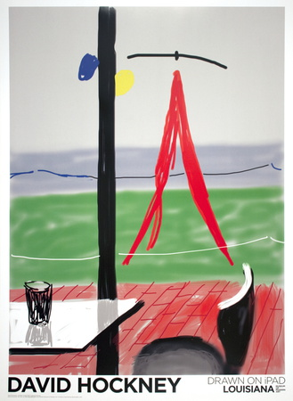 Untitled from the (Apple) IPAD Series art print by David Hockney