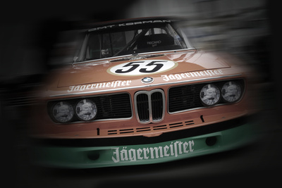 BMW jagermeister Stretched Canvas Print